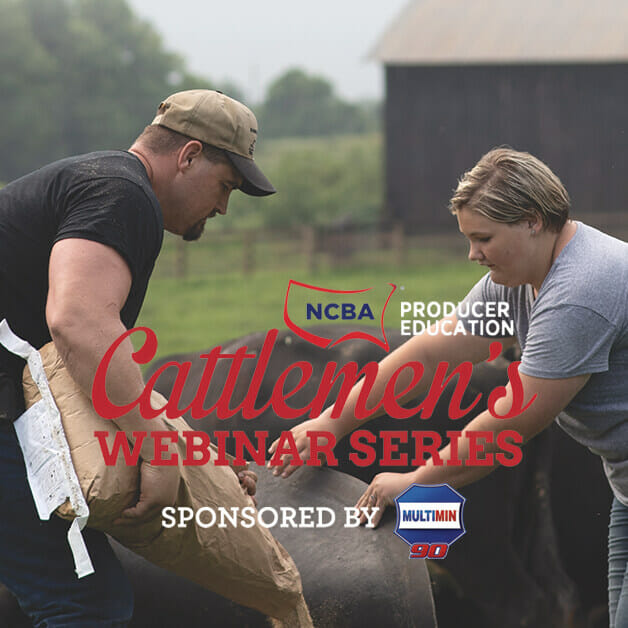 NCBA Producer Education Cattlemen's Webinar Series Sponsored by Multimin USA
